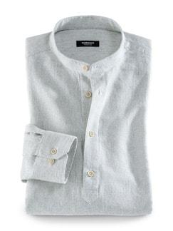 Oasen-Shirt Oliv Detail 1
