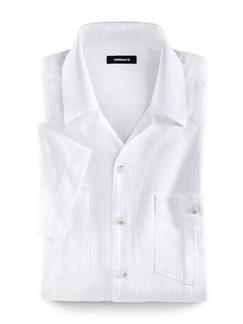 Cubavera-Hemd Weiß Detail 1