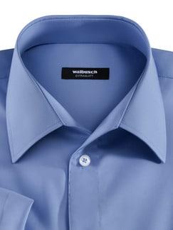 Extraglatt-Hemd Walbusch-Kragen Azur Detail 3