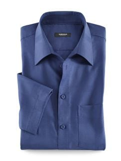 Sommerhemd Blau Detail 1