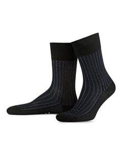 Falke Socke Uni Black Detail 1
