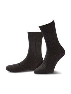 4-Seasons Socke 2er-Pack Braun Detail 1