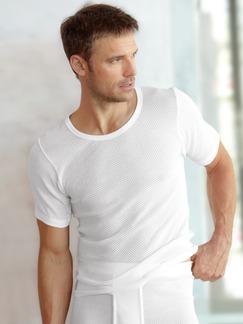 Lufttrikot-Shirt 2er-Pack Weiß Detail 1