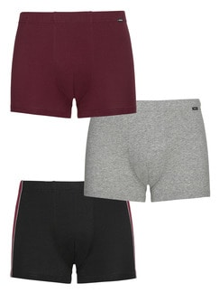 3er-Pack Pants Colore Bordeaux Detail 1