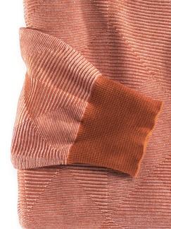 Francesco Morri Jacquard Pullover Rost/Terra Detail 4