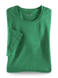 T-Shirt Rundhalsausschnitt Grün Detail 1