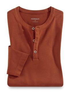 Henley-Shirt Terra Detail 1