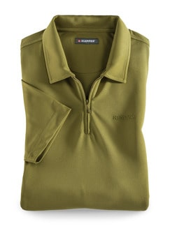 Klepper Dry Touch Polo Moos Detail 1