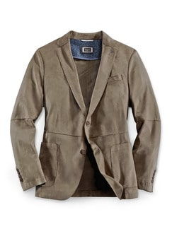 Ultraskin light Blazer Sandbeige Detail 1