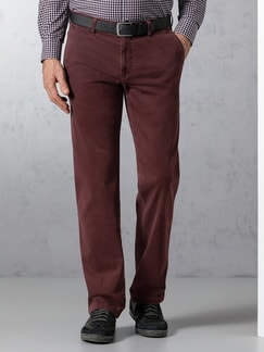 EUREX by BRAX High Comfort Chino Bordeaux Detail 2