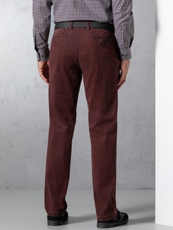EUREX by BRAX High Comfort Chino Bordeaux Detail 4