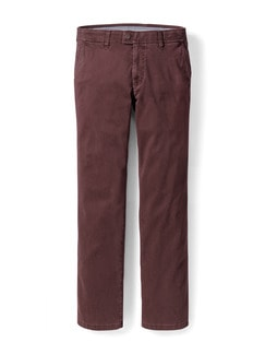 EUREX by BRAX High Comfort Chino Bordeaux Detail 1