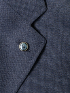 Sneaker-Anzug-Sakko Dunkelblau Detail 4