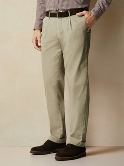Pima-Chino Cashmere Finish Beige Detail 2