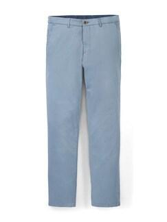 Easycare Light Cotton Chino Hellblau Detail 1