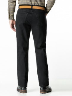 Thermojeans Five Pocket Black Detail 3