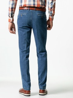 Jogger-Jeans Chino Light Blue Detail 3
