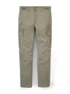 Multipocket-Cargo Khaki Detail 1