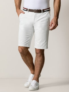 Easycare Light Cotton Bermudas Beige Detail 2