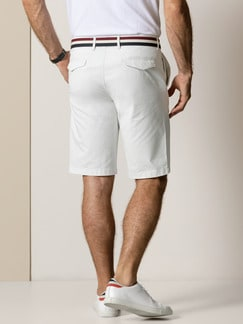 Easycare Light Cotton Bermudas Beige Detail 4