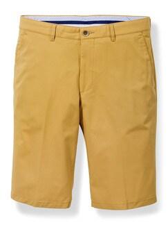 Easycare Light Cotton Bermudas Gelb Detail 1
