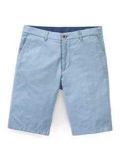 Easycare Light Cotton Bermudas Hellblau Detail 1