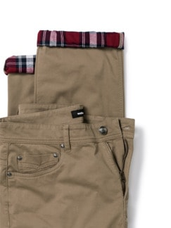 Extraglatt-Thermo Five-Pocket Beige Detail 4