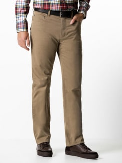 Extraglatt-Thermo Five-Pocket Beige Detail 2