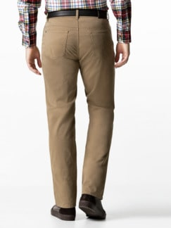Extraglatt-Thermo Five-Pocket Beige Detail 3
