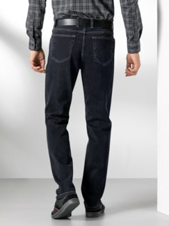 Extraglatt Flex Jeans Comfort Fit Black Detail 3