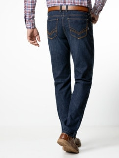 Cordura Jeans Dark Blue Detail 3
