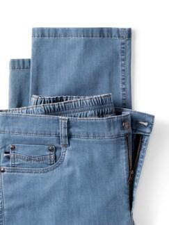 Ultra Dry Klima Jeans Hellblau Detail 4