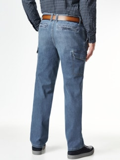 Cargo Jeans Bleached Detail 3