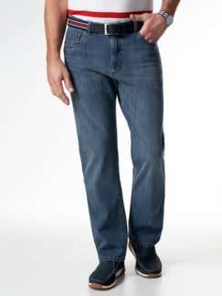 Gürtel-Jeans Regular Fit Blue Stone Detail 2