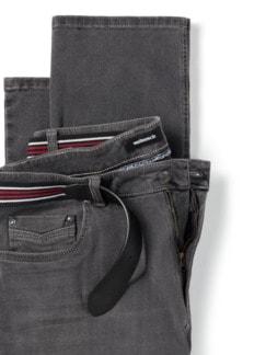 Gürtel-Jeans Regular Fit Grey Detail 4