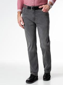 Gürtel-Jeans Regular Fit Grey Detail 2