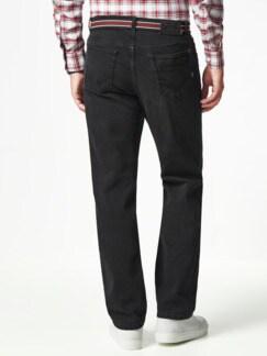 Gürtel-Jeans Regular Fit Black Detail 3