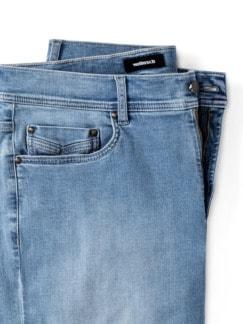 Ultralight Bermudas Jeans 2.0 Summer Bleached Detail 4