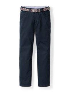 Extraglatt-Stretchbund Five Pocket Marine Detail 1