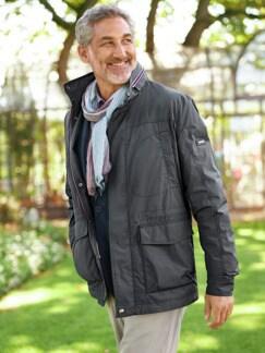 9-Taschen Jacke Anthrazit Detail 4