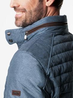 Jacke mit Thinsulate Insolation Blaugrau Detail 4