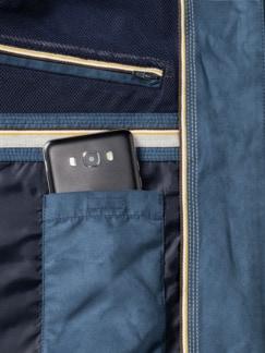 Ultraskin-Klima-Lumber Jeansblau Detail 3