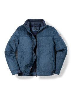 Ultraskin-Klima-Lumber Jeansblau Detail 1