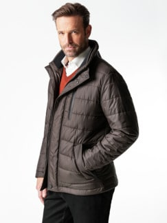 Thermore Steppjacke Mokka Detail 2