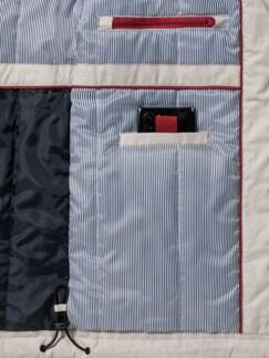 11-Taschen Freizeitjacke Hellbeige Detail 4