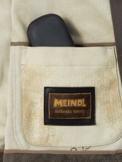 Meindl Leder Hemdjacke Braunoliv Detail 3
