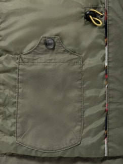 Multipocket Jacke Khaki Detail 3
