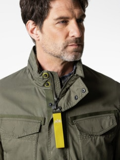 Multipocket Jacke Khaki Detail 4