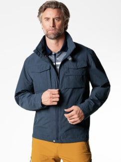 Klepper Aquastop Protection Jacke Marine Detail 2