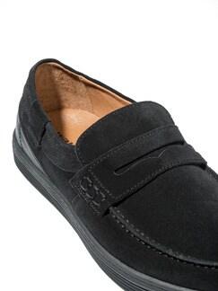 Sport-Loafer Schwarz Detail 4